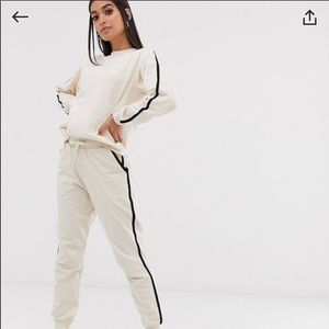 NWT petite track suit